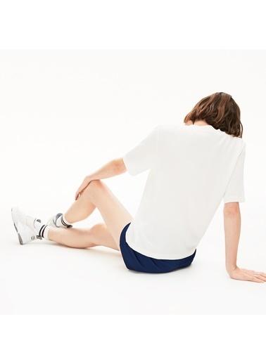 Lacoste Kadın Motion Bluz CF5919.70V Beyaz